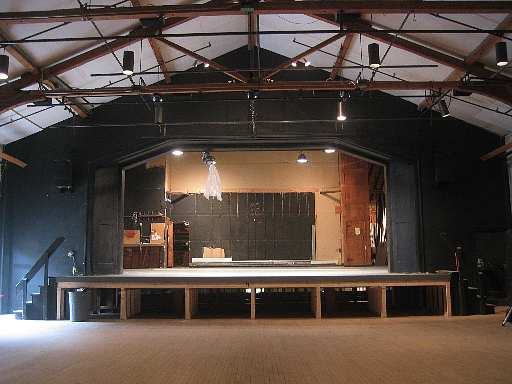 Stage Floor Renovation Project